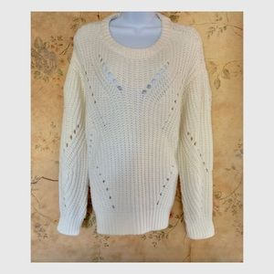 Vince Camuto Long Sleeve Sweater SZ L